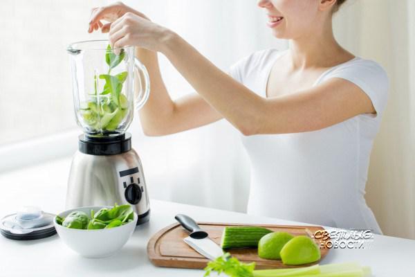 Зеленый коктейль и очищение