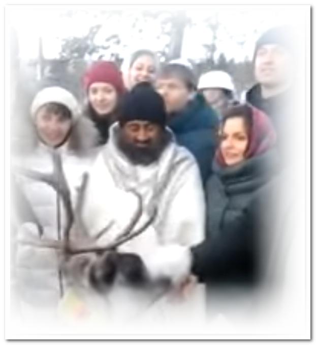 Шри Шри Рави Шанкар в России и русские в Индии
